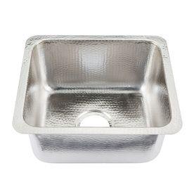 Sinkology Nickel Undermount Commercial/Residential Prep Sink P1u ...