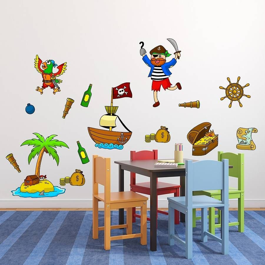 Pirate Wall Stickers By Mirrorin Notonthehighstreet Arrr