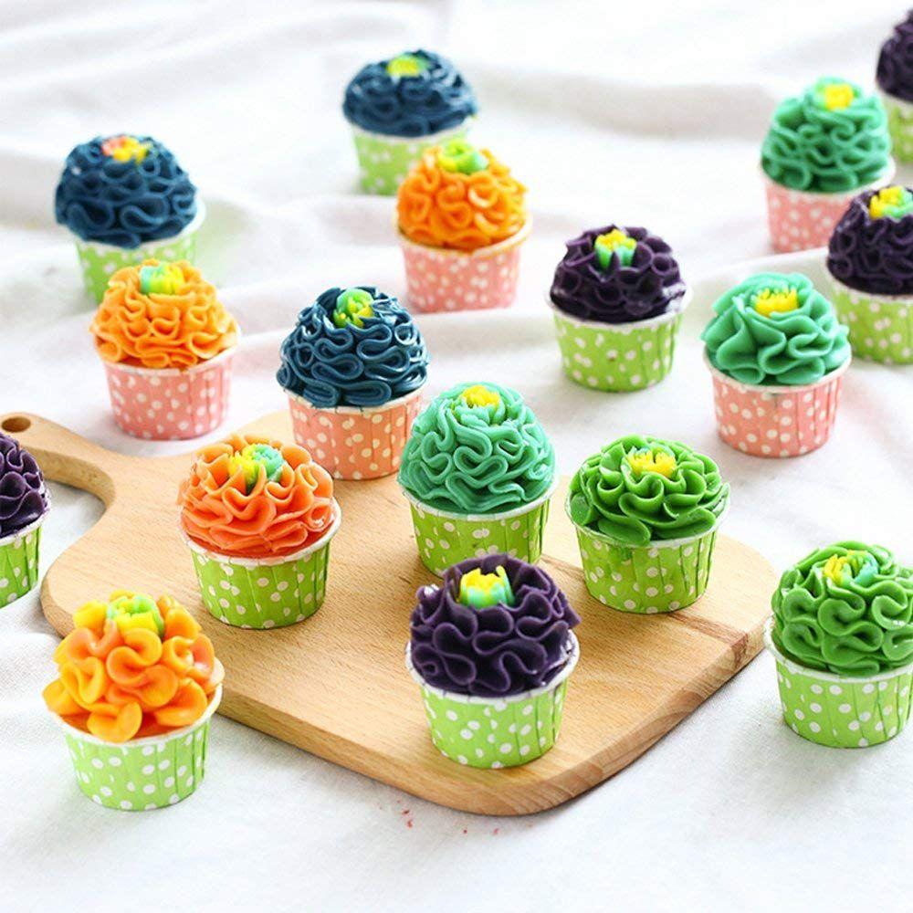 Russische Spritztullen Fellibay Formen Russische Spritzbeutel Tullen Balltullen Backzubehor Muffins Cupcakes Tortendeko Einzigartige Kuchen Backen