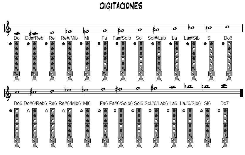 Pin En Flauta