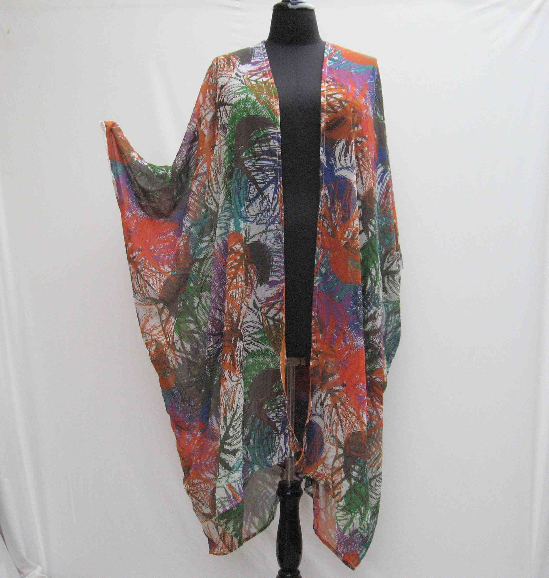 Women/'s Plus Size Holly Wrap Jacket with Zipper 1X 2X 3X