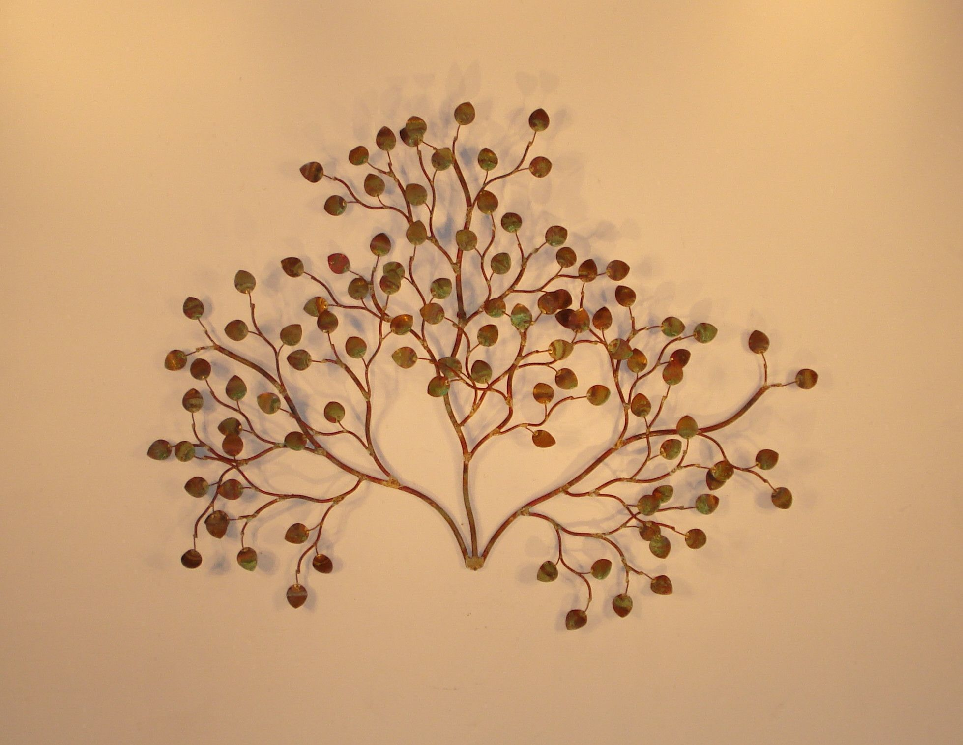 Sea Leaves\' Leaves metal wall sculpture | Products | Pinterest ...