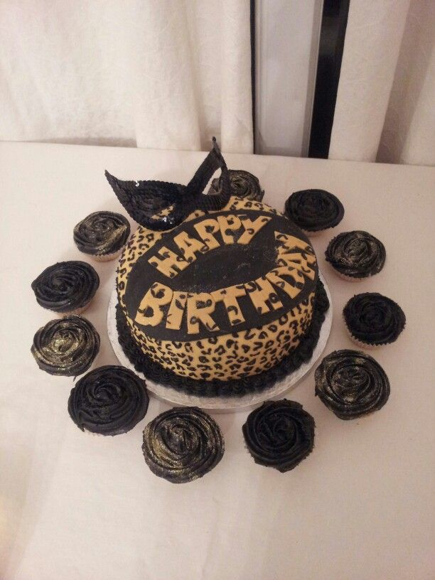 leopard print birthday cake New ideas Pinterest Birthday cakes