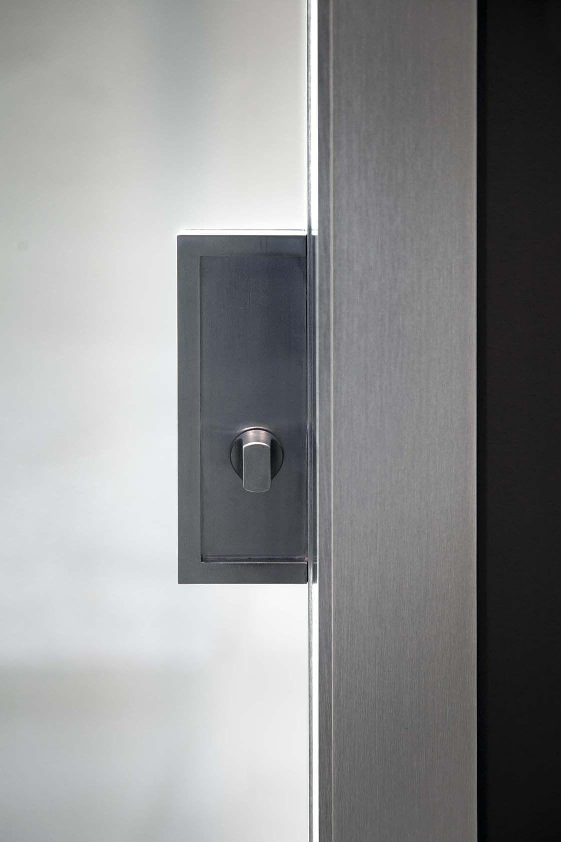 Porta Scorrevole 4 Ante.Ante Scorrevoli In Vetro A 1 2 O 4 Ante Mdb Portas Dettaglio Porta