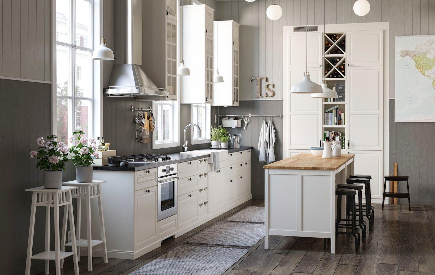 Kucheninspiration Ideen Tipps Tricks Ikea Kuche Landhaus Haus Kuchen Ikea Kuche