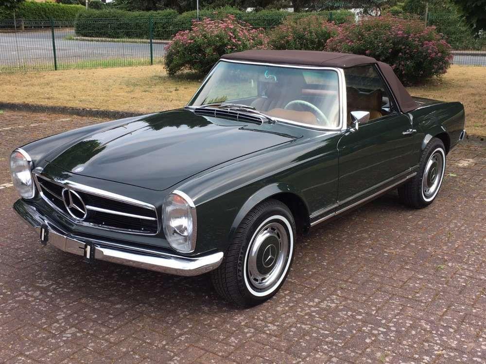 1969 Mercedes Benz 280sl Classic Cabriolet Pagoda Automatic W113