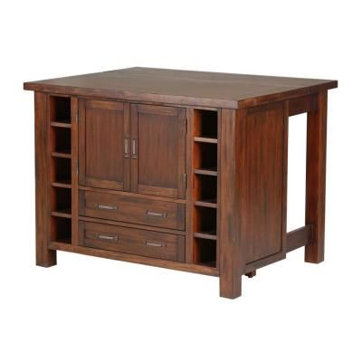 home depot kitchen islands with seating | Cabin Creek Wood ...
