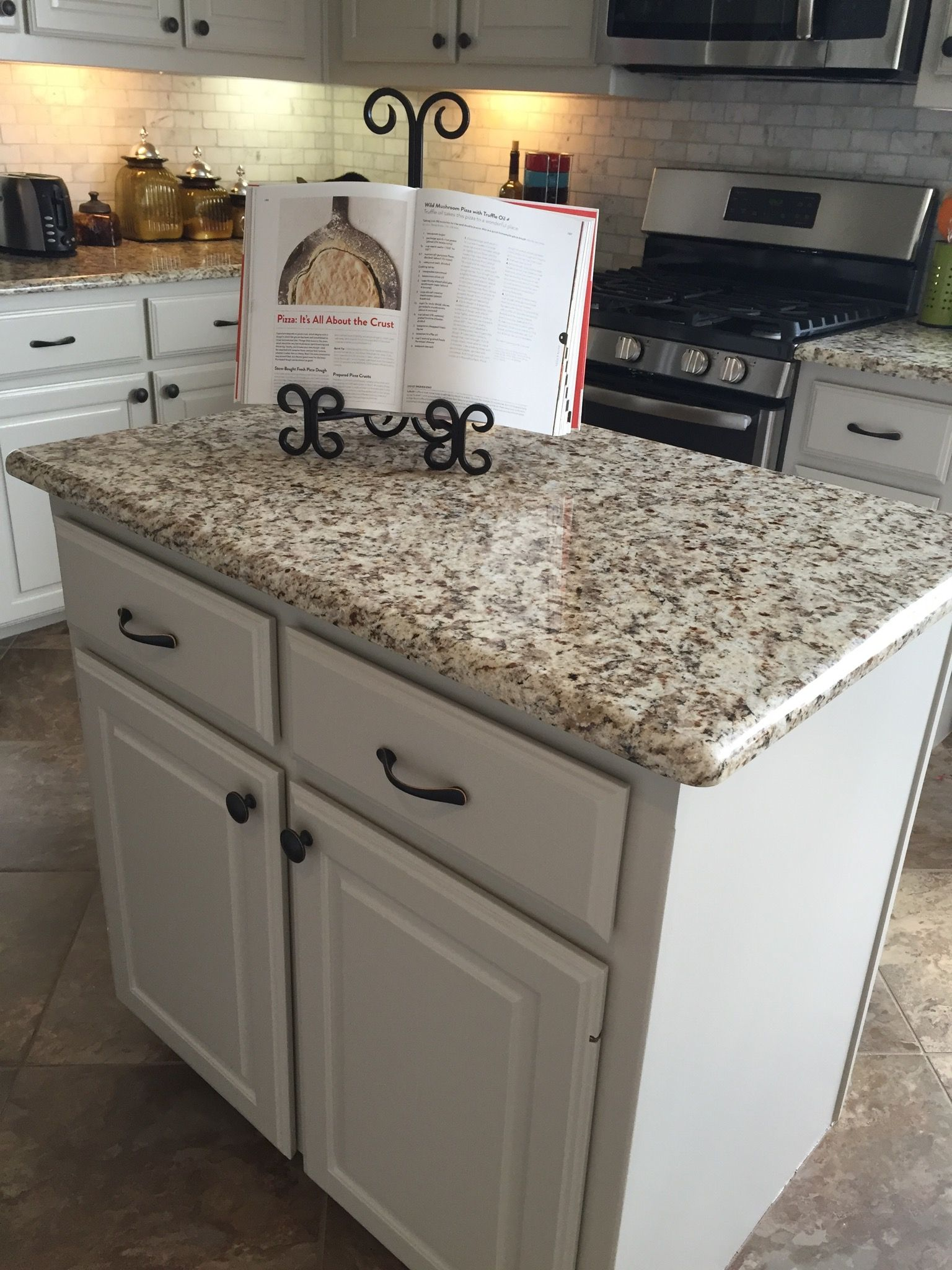 Delicieux Loved How The Granite And Subway Tile Turned Out In This Kitchen. Kitchen  Colour CombinationKitchen ...
