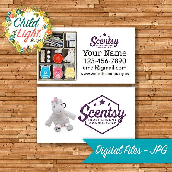 Officially authorized scentsy vendor scentsy business cards officially authorized scentsy vendor scentsy business cards customized personalized print your own reheart Choice Image