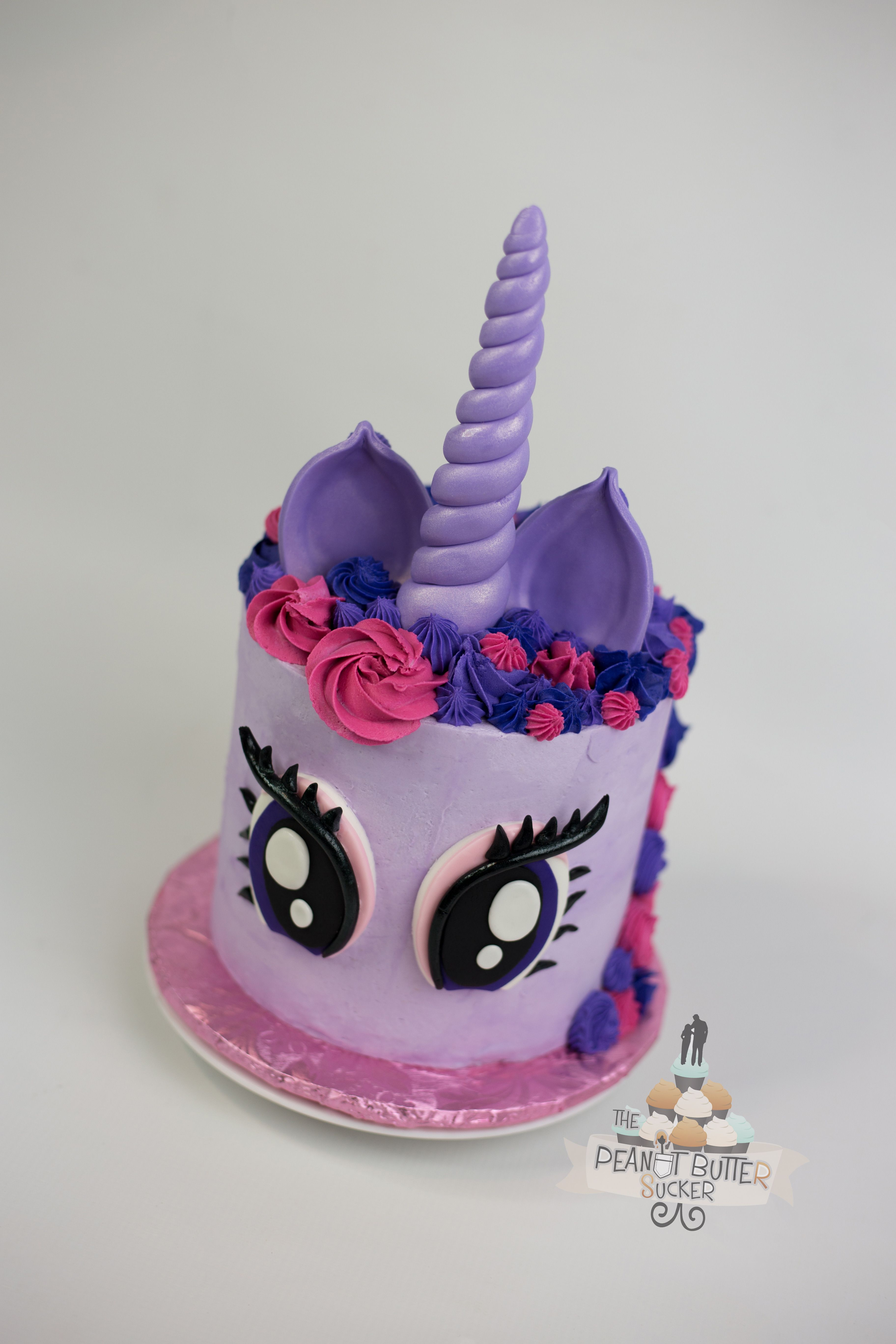 My Little Pony Unicorn Cake