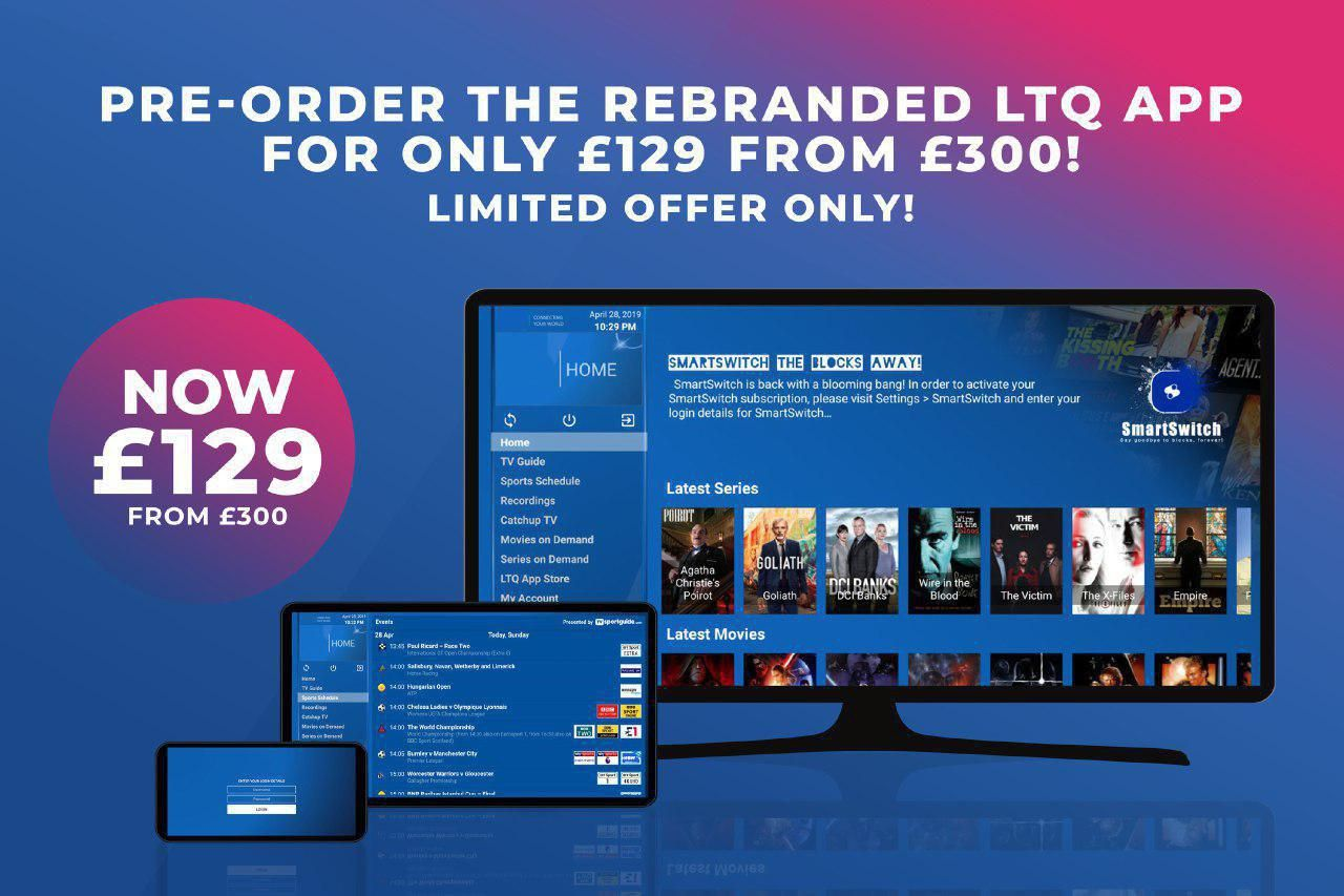 EXISTING RESELLERS Get your own Branded LTQ App with New