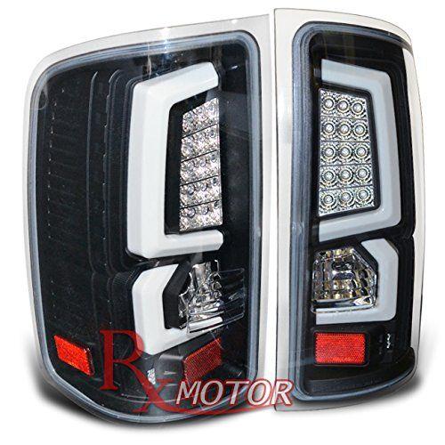 Rxmotor Gmc Sierra Led Tube Style Tail Lights Rear Brake Signal Light Lamp 2007 2008 2009 2010 2011 2012 2013 Black Http Ledl Gmc Sierra Gmc Tail Light