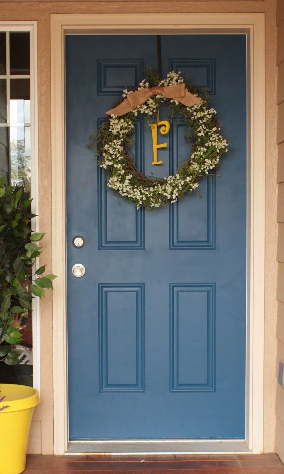 Painting your front door seems like a pretty straight forward thing, right? Roll on some paint and ta da? What I did not think about wh...
