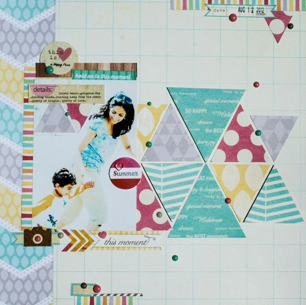 Love this moment layout by neela nalam