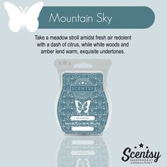 Mountain Sky Scentsy New Release Spring 2016 Citrus