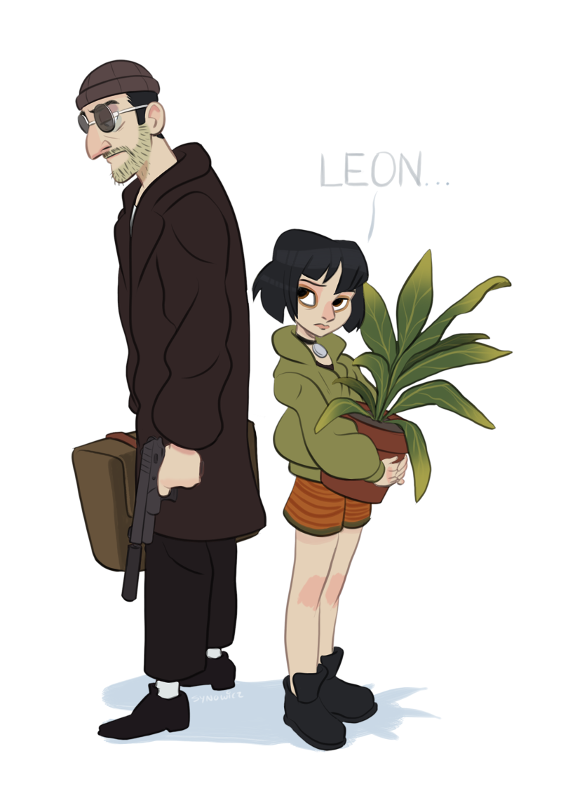 Mattsynowicz The Professional Movie Leon The Professional Illustration
