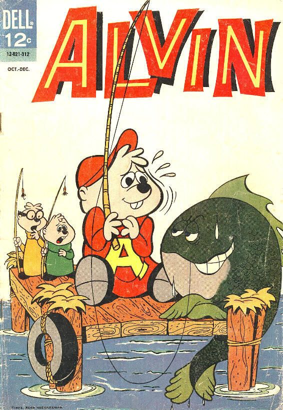 COMIC alvin and chipmunks 5 #comic #cover #art
