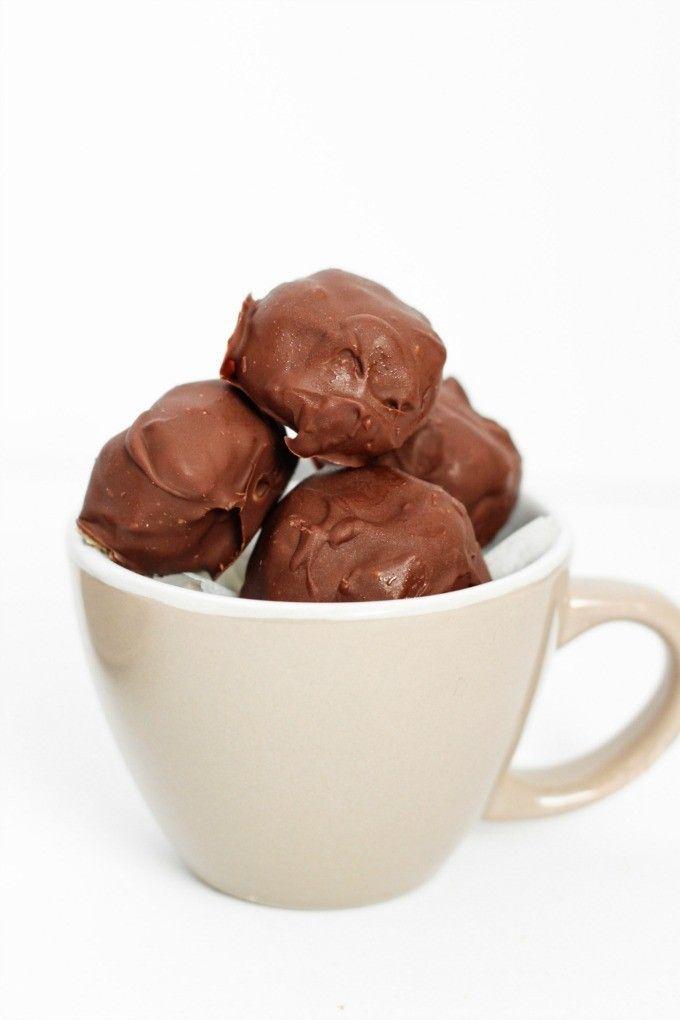 homemade lindt truffles (v/gf)