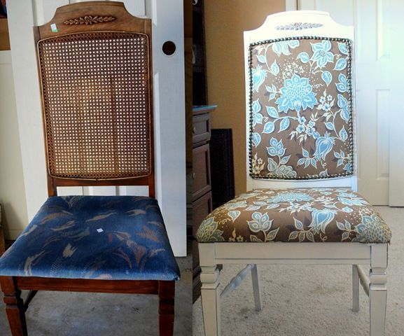 DIY Chair Recovered A Cinderella Story  Fabrics