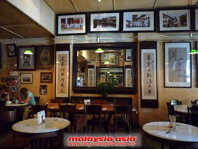 Chinese antique interiors old china cafe in kuala lumpur