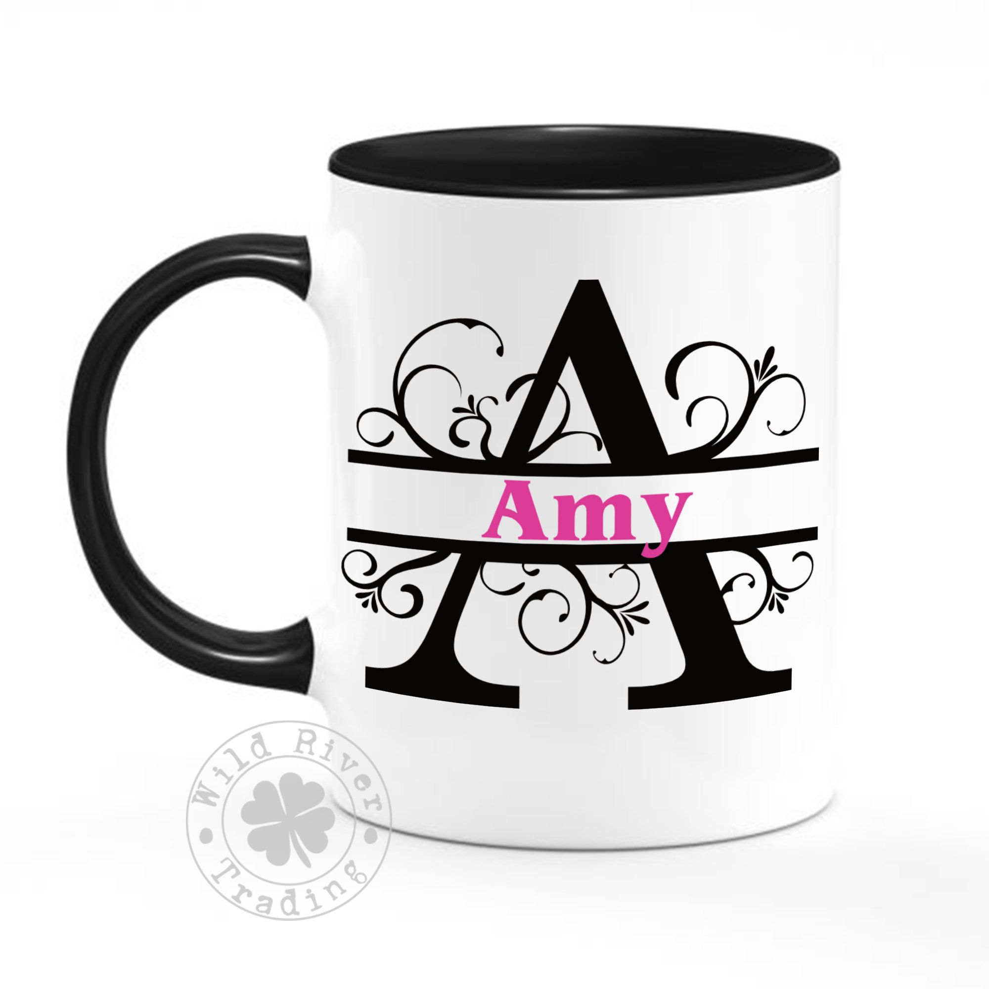 Custom Name Personalized Coffee Mug Gift Idea Custom