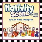 Free coloring cut outs of the classic Nativity scene that your students can color and arrange! ...