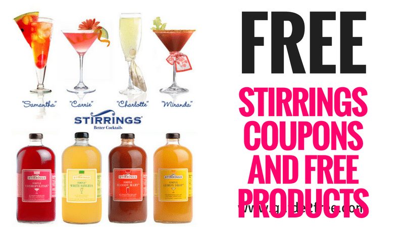 Stirrings Insiders Free Stirrings Coupons And Free Products