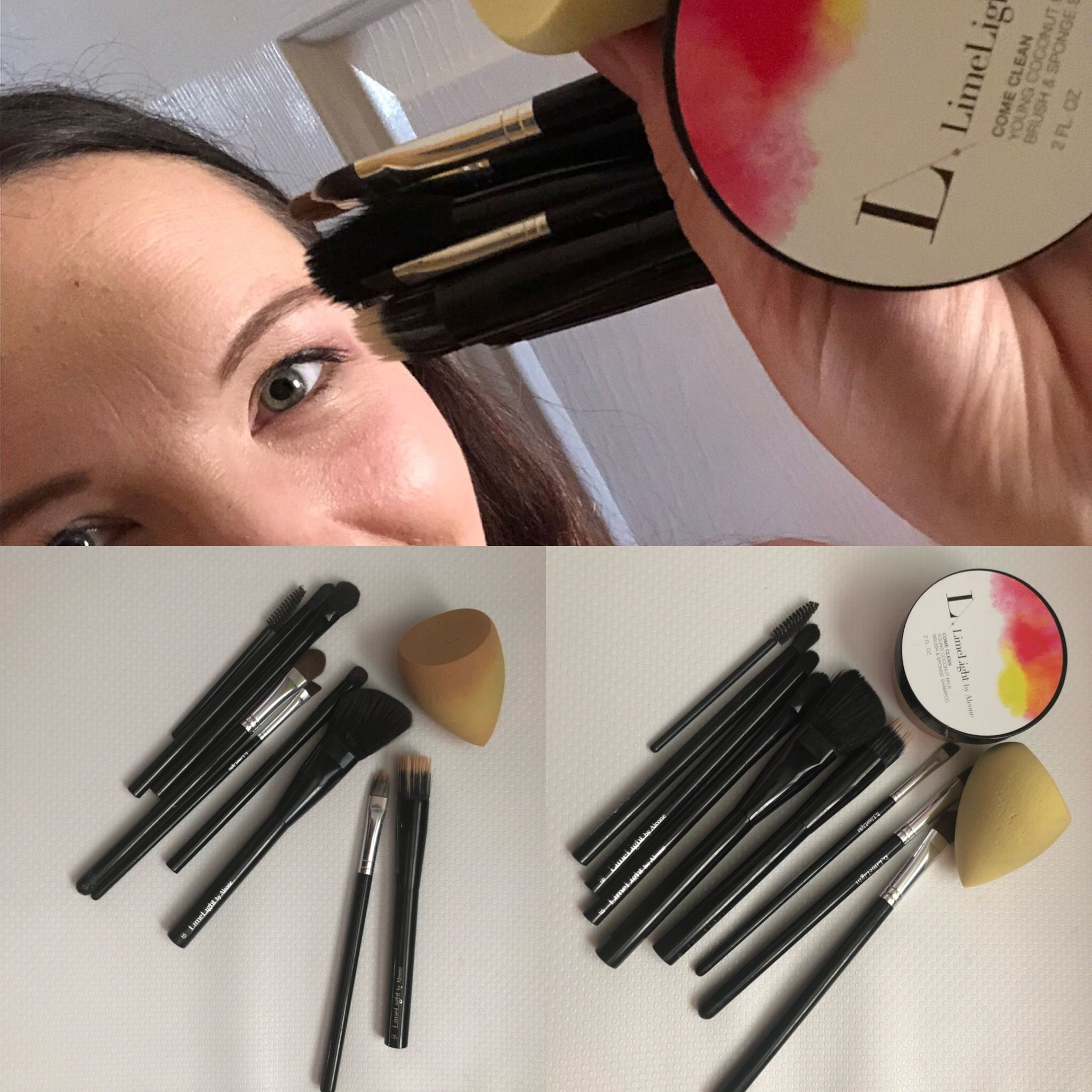 Our chemical free, all natural makeup brush and sponge