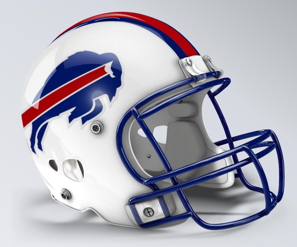 Buffalo Bills Throwback Helmet Football Helmets Titan Helmet Helmet