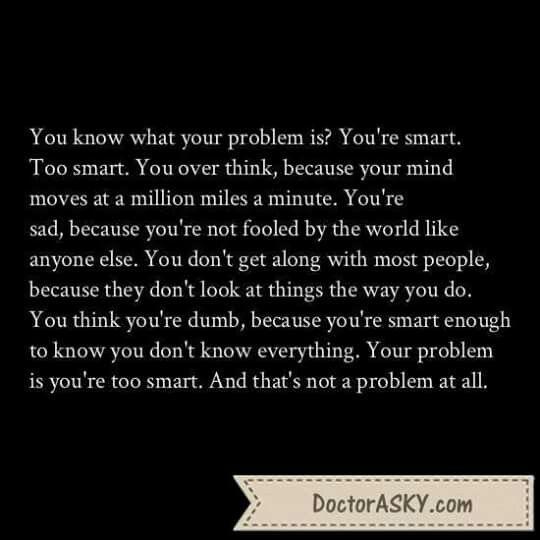 Too Smart
