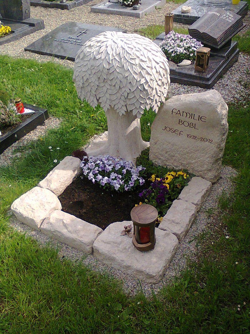 urnengrab mit laubbaum funeral flowers pinterest laubbaum grabgestaltung und grabschmuck. Black Bedroom Furniture Sets. Home Design Ideas