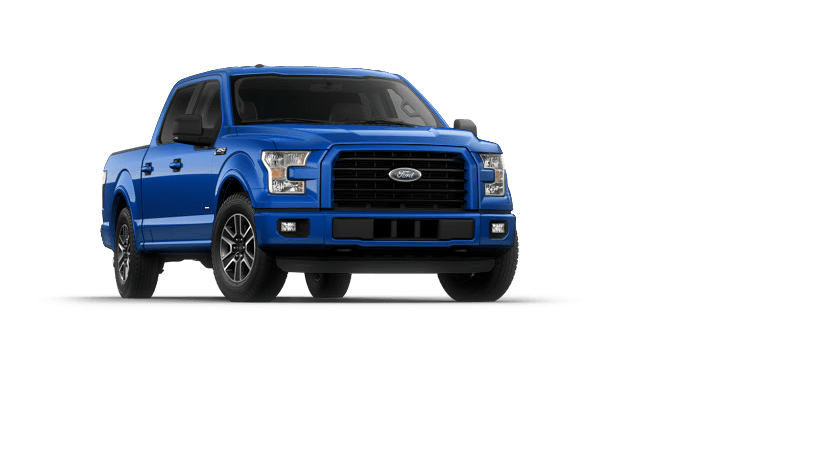 New 2015 Ford F150 XLT Truck (Blue Flame color