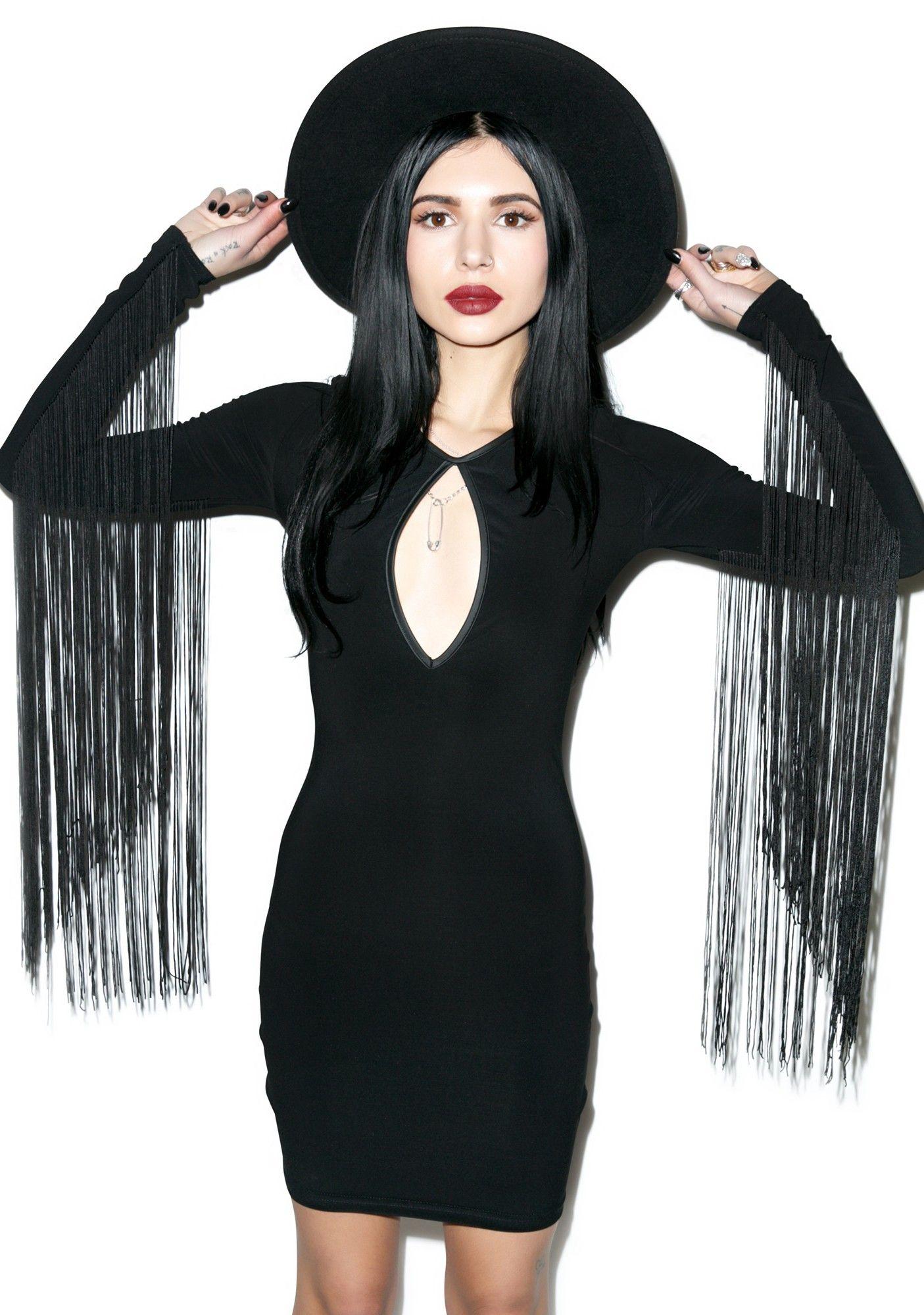 Black Wednesday The Magick Dress Dolls Kill