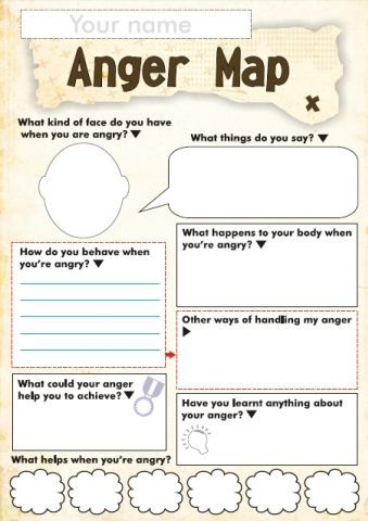 Free Anger and Feelings Worksheets for Kids | Homeschool (All Ages ...