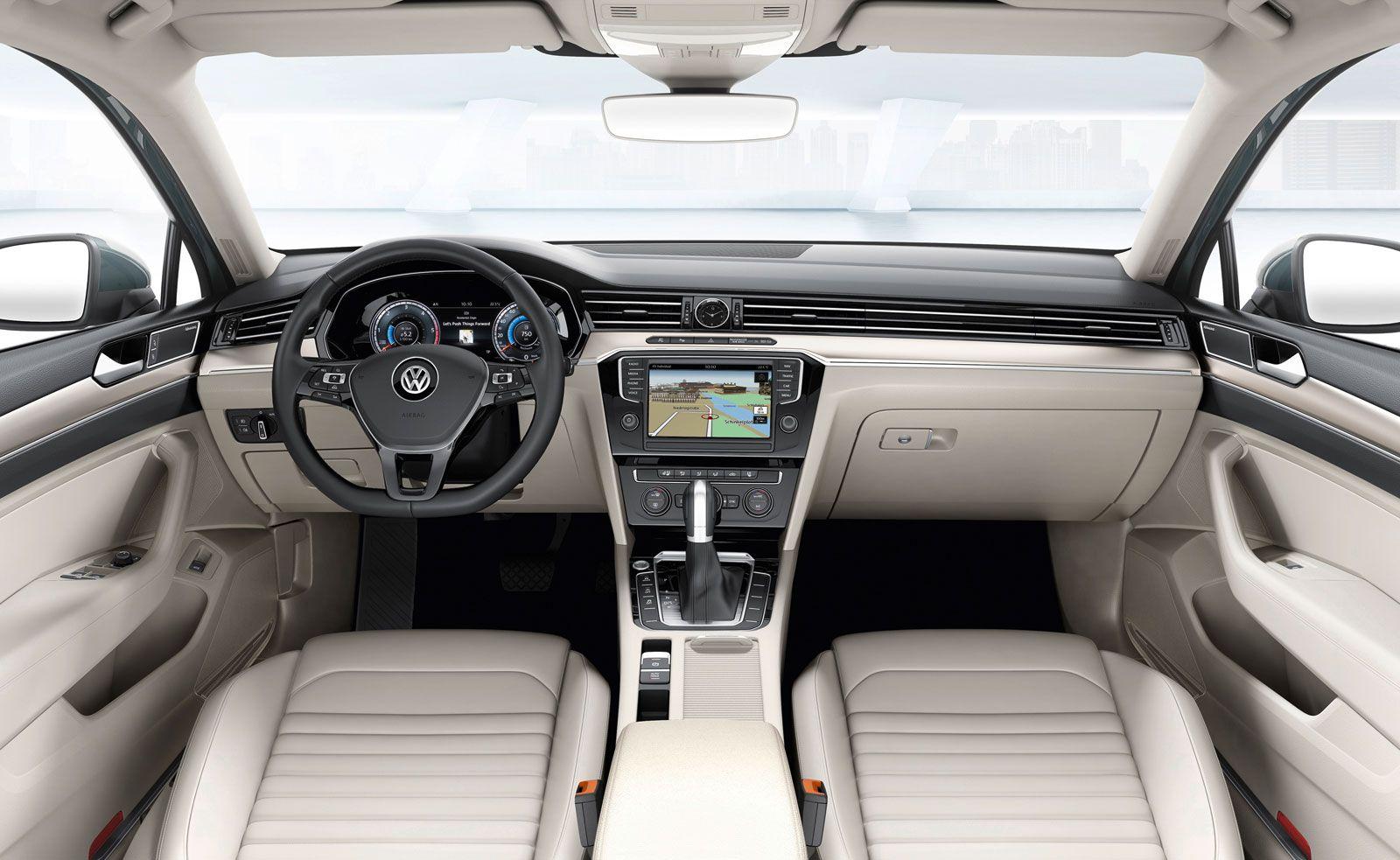 New Volkswagen Passat Interior Car Body Design Volkswagen Volkswagen Passat Vw Passat