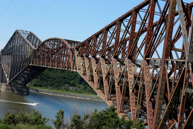 pont de qu bec vue 5760 3840 le plus long pont cantilever le pont de qu bec 1917. Black Bedroom Furniture Sets. Home Design Ideas