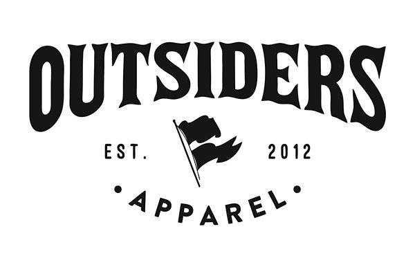 Outsiders Apparel On Behance The Outsiders Apparel Tech Company Logos