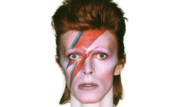 Album cover shoot for Aladdin Sane. Copyright: Duffy Archive RIP David Bowie!