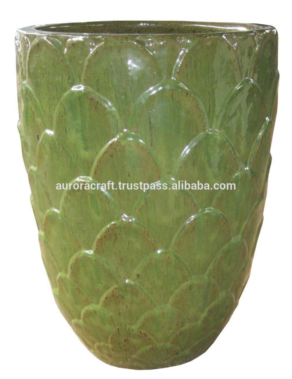 Large Glazed Ceramic Garden Pots.   Buy Large Ceramic Flower Pots,Glazed  Pottery Pots,Large Outdoor Glazed Ceramic Pot Product On Alibaba.com