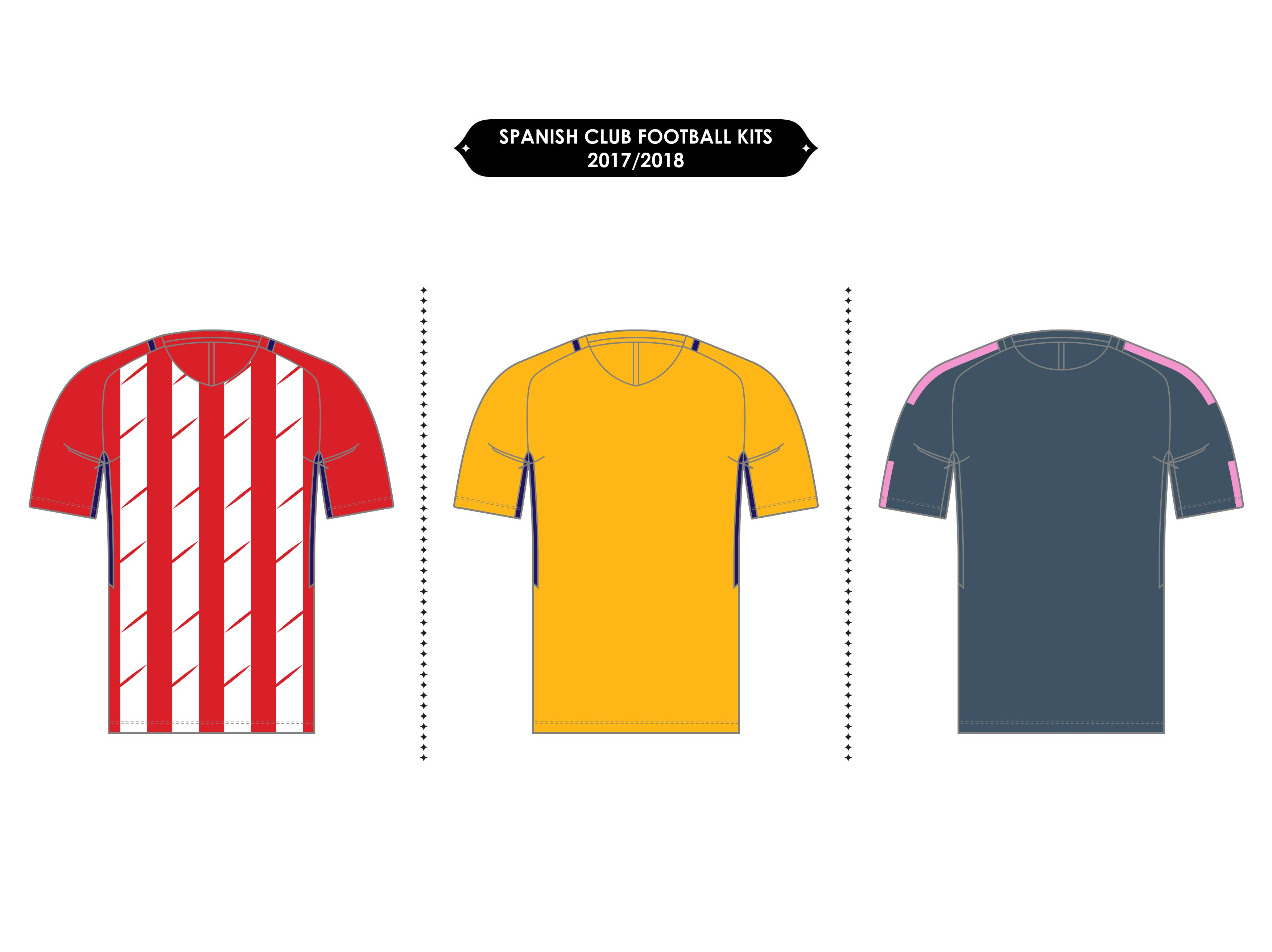 Atlético Madrid Football Kits    2017 18  318859030cd05