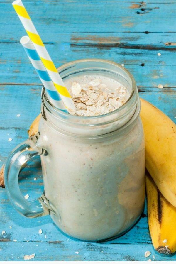 Prueba ya nuestra irresistible Receta de Smoothie de Banana con Avena. Gracias a que contiene gran c...