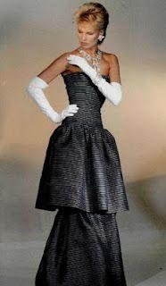 Dior Années 80 aujourd'hui sur le blog! Modèle de 1983. Sur la page du blog, vous pouvez cliquer sur les photos pour les agrandir.