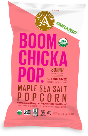 Maple Sea Salt Gourmet Popcorn Spicy No Calorie Snacks Sweet And