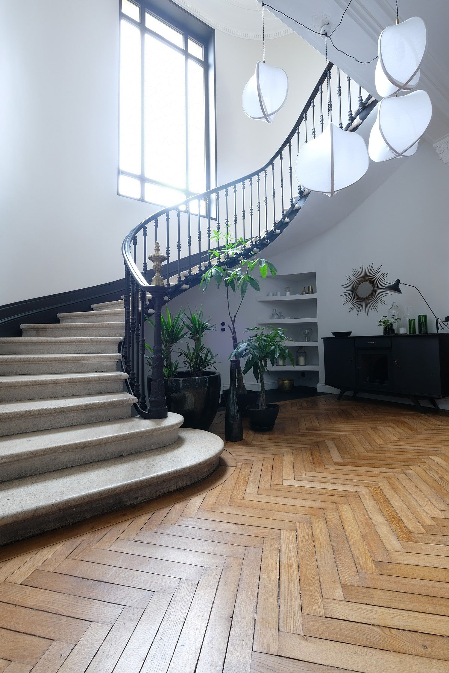 Escalier Dans Maison Ancienne la rénovation d'un hôtel particulier | escalier en pierre