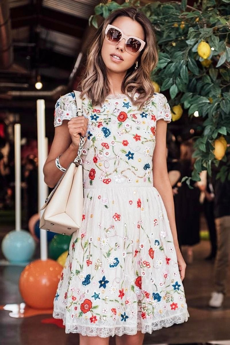 The Best Summer Essentials From Target Summer Work Dresses Fashion Floral Dress Casual [ 1200 x 800 Pixel ]