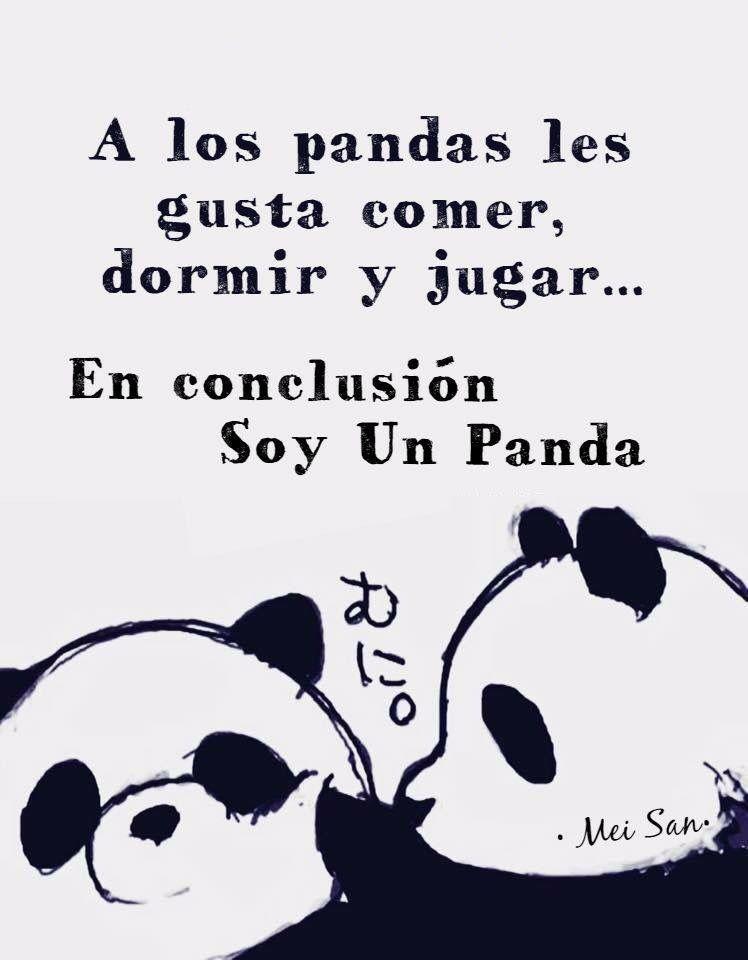 Cosas De Pandas Ilustracion De Panda Panda Imagenes De Amor