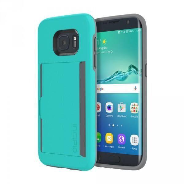 Incipio Samsung Galaxy S7 Edge Stowaway Case - Teal