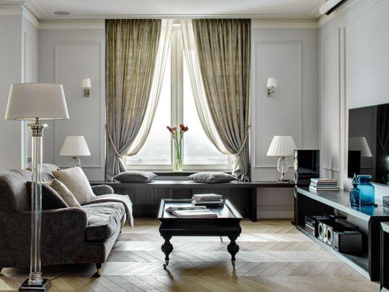 Déco salon gris et blanc : 28 modèles élégants | Salons