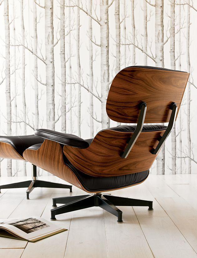 Eames® Lounge Chair and Ottoman Eames, Chair design
