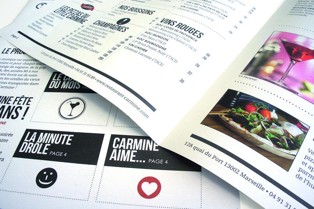 La Gazettina Restaurant Menu Design Restaurant Graphics Restaurant Menu Design Menu Design